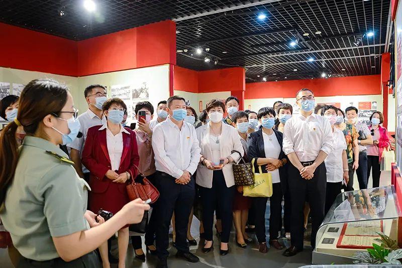 新时代天津联合流动党支部成立授牌仪式成功举办