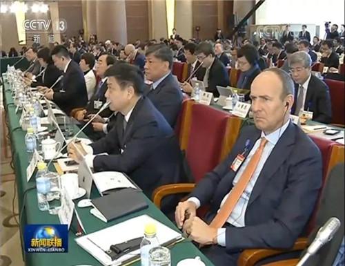美国安利公司董事会联合主席德•狄维士 第十一次出席中国发展高层论坛